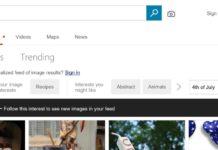 Imagem de: Microsoft adiciona feed de vídeo e imagem personalizáveis ao Bing