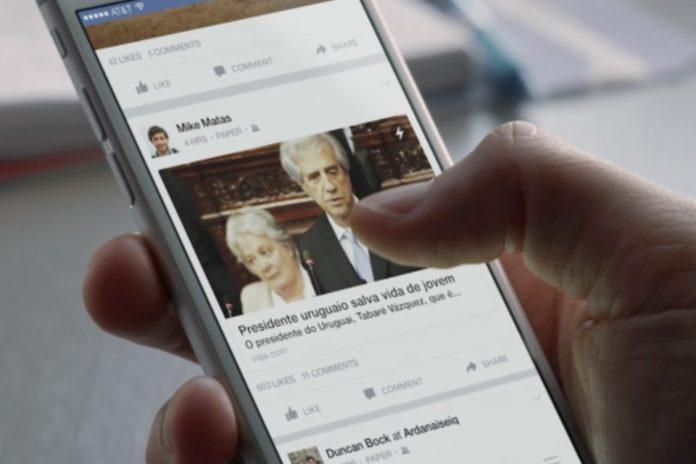 Imagem de: Facebook lança Instant Articles no Brasil e melhora a leitura de notícias