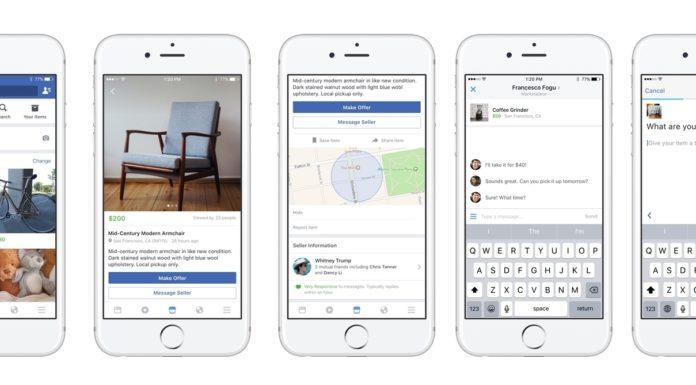 Imagem de: Marketplace: Facebook começa a testar seu novo serviço de compra e venda
