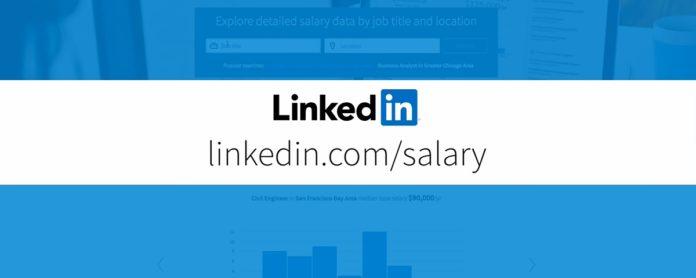 Imagem de: LinkedIn lança comparativo de salários para ajudar você a ganhar mais