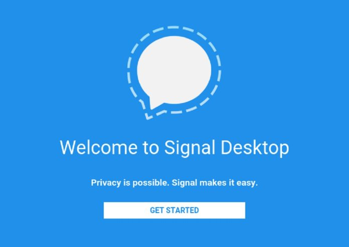 Imagem de: Signal, mensageiro indicado por Snowden, chega para PC