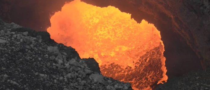 Imagem de: General Electric vai fazer streaming de lago de lava na Nicaragua
