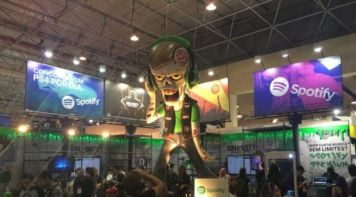 Imagem de: Em crescimento absurdo no país, Spotify dá um PS4 por dia na Comic Con 2015