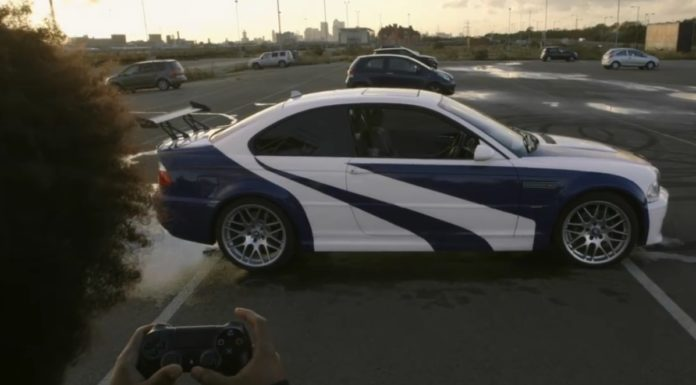 Imagem de: Insano: vídeo mostra jogador controlando um BMW M3 GTR com DualShock 4