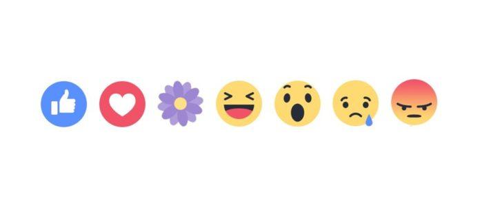Imagem de: Facebook está oferecendo reação de flor para comemorar o Dia das Mães
