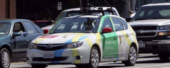 Imagem de: Google Street View testa mapeamento de poluição urbana
