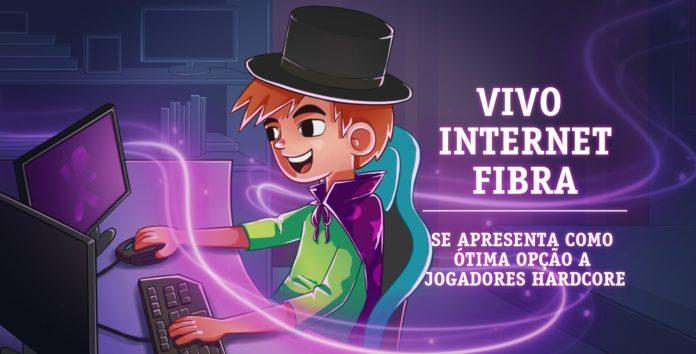 Imagem de: Vivo Internet Fibra se apresenta como ótima opção a jogadores hardcore