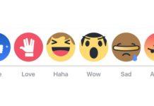 Imagem de: Facebook comemora 50 anos de Star Trek com novos botões de like