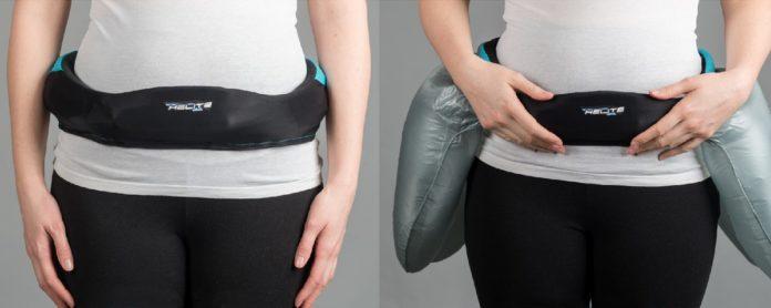 Imagem de: Você usaria este cinto com airbag para proteger seu quadril?