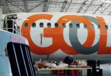 Imagem de: Gol terá avião com WiFi via satélite e sistema completo de entretenimento
