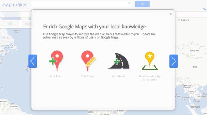 Imagem de: Google vai mover recursos do Map Maker para dentro do aplicativo Maps