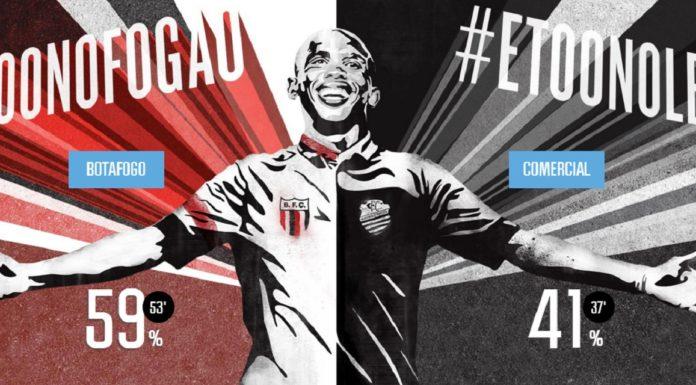 Imagem de: Twitter traz Eto'o para jogar o Come-Fogo no Brasil