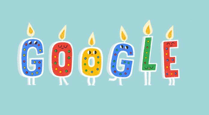 Imagem de: Faça um pedido: assopre velinhas do Google pelo celular em seu aniversário