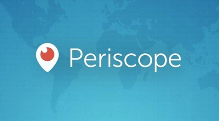 Imagem de: Aplicativo de streaming Periscope agora suporta gravação na horizontal