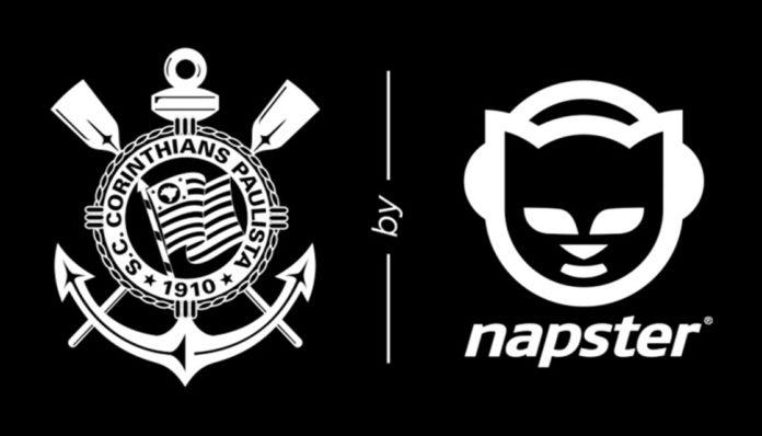 Imagem de: Napster, é você? Sim, e acaba de fechar parceria com Corinthians