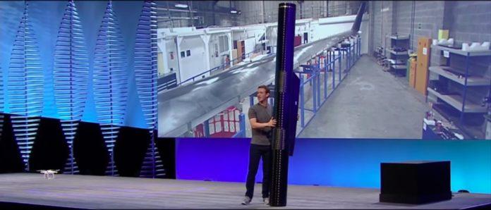 Imagem de: Facebook está lançando avião solar que transmite internet via satélite