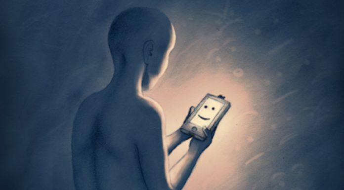 Imagem de: O seu smartphone sabe quando você está deprimido