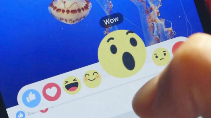 Imagem de: Novo sistema Reactions do Facebook ganha lançamento no Japão