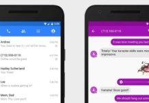 Imagem de: Facebook unifica chat do Messenger e recados SMS no Android