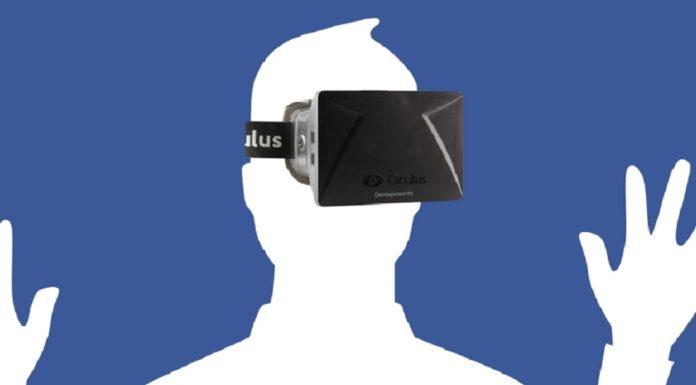Imagem de: VR: Facebook está desenvolvendo um app de realidade virtual