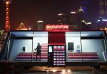 Imagem de: Moby, a mercearia móvel do futuro que repõe itens e vende sem funcionários
