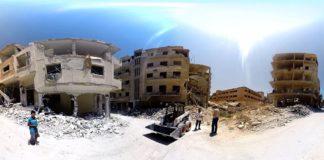 Imagem de: Impressionante: vídeo em 360° mostra estragos causados pela guerra na Síria