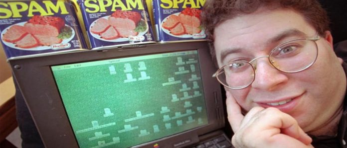 Imagem de: Rei do Spam vai pra cadeia por mandar 27 milhões de mensagens no Facebook