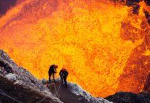 Imagem de: Já dá para explorar um vulcão em atividade pelo Google Street View