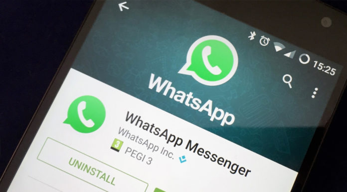 Imagem de: Chamada em vídeo surge (e logo some) de versão Beta do WhatsApp