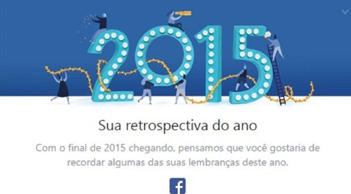 Imagem de: Facebook lança Retrospectiva 2015 para todos os usuários