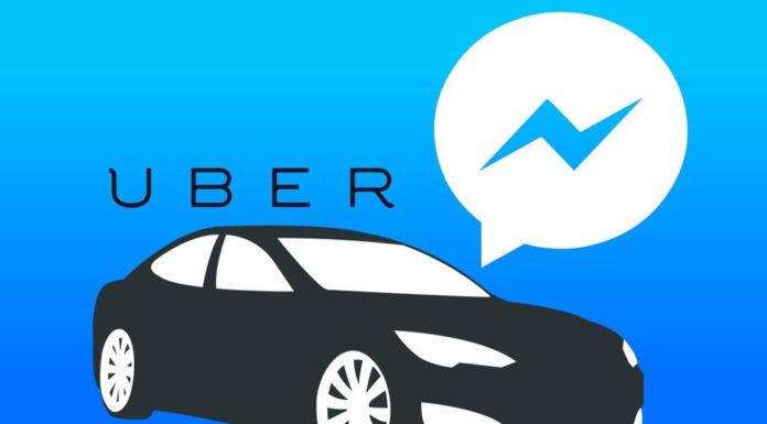 Imagem de: Agora já é possível chamar um carro do Uber pelo Facebook Messenger