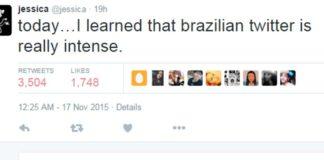 Imagem de: Norte-americana chamada Jessica é alvo por tabela de meme criado no Brasil