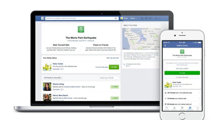 Imagem de: Facebook aciona confirmação de status de segurança após atentado na Nigéria