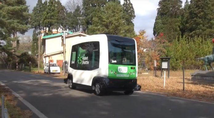 Imagem de: Veículo autônomo de transporte público já está em fase de testes no Japão