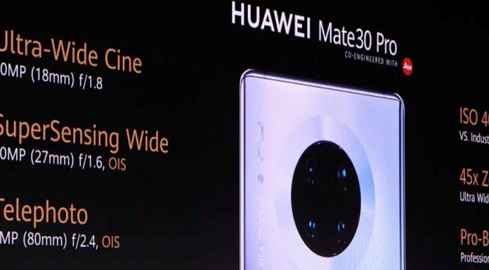 Imagem de: É oficial! Saiba tudo sobre Huawei Mate 30 e Mate 30 Pro