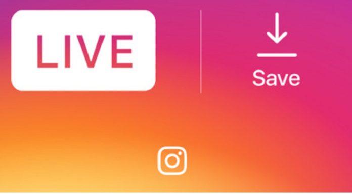 Imagem de: Instagram agora deixa você salvar vídeos ao vivo