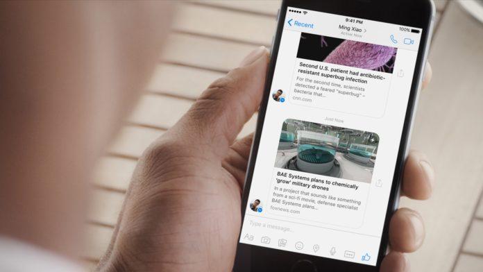 Imagem de: Facebook Messenger ultrapassa marca de 1 bilhão de usuários