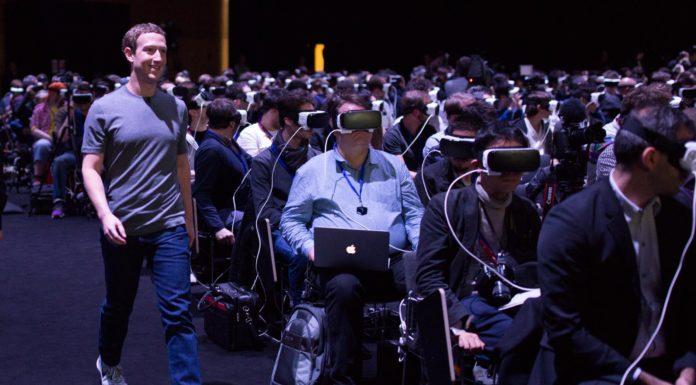Imagem de: Foto de Mark Zuckerberg na MWC 2016 pode dizer muito sobre nosso futuro