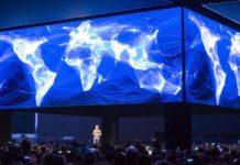 Imagem de: Facebook está criando um novo mapa mundial da densidade demográfica