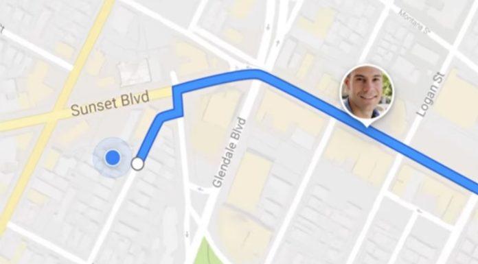 Imagem de: Google Maps vai permitir compartilhar localização com amigos em tempo real