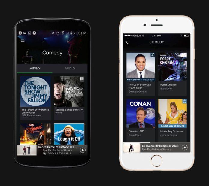 Imagem de: Se cuida, YouTube? Spotify agora transmite vídeos pelo aplicativo