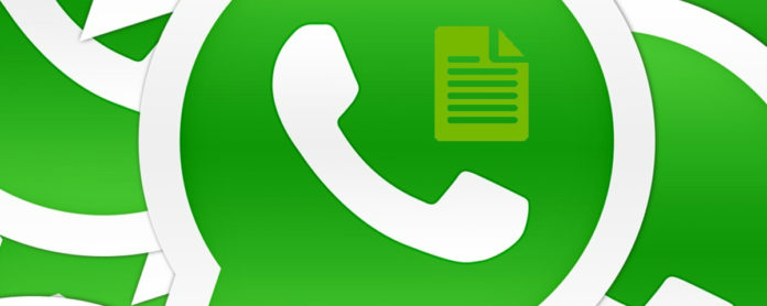 Imagem de: WhatsApp pode estar prestes a permitir compartilhamento de documentos