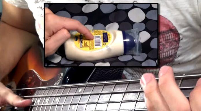 """Imagem de: Músico faz versão de """"Seven Nation Army"""" usando frasco de maionese [vídeo]"""