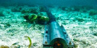 Imagem de: Mapa: veja todos os cabos de rede submarinos no mundo