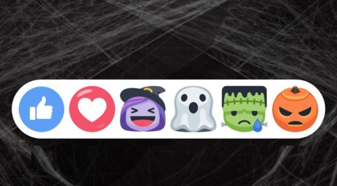 Imagem de: Like ou travessura? Facebook ganha reações e filtros especiais de Halloween