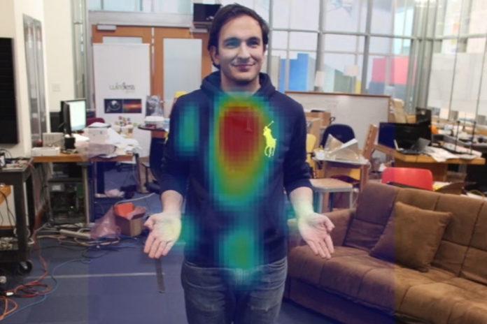Imagem de: Nova tecnologia usa sinal WiFi para ver você através de paredes [vídeo]