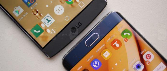 Imagem de: LG cutuca Samsung no Twitter por falta de bateria removível no S6 Edge+