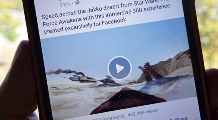 Imagem de: Facebook testa novos botões e possibilidade de exibição de vídeos offline