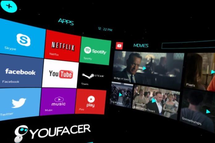 Imagem de: Startup brasileira cria interface de RV para integrar jogos e redes sociais