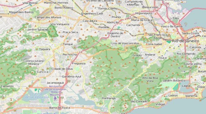Imagem de: Mapas do Rio estão atualizados para as Olimpíadas graças ao OpenStreetMaps